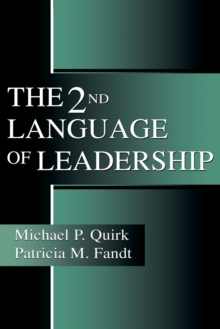 The 2nd Language of Leadership, Paperback / softback Book