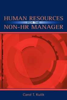 Human Resources for the Non-HR Manager, Paperback Book