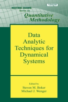 Data Analytic Techniques for Dynamical Systems, Paperback / softback Book