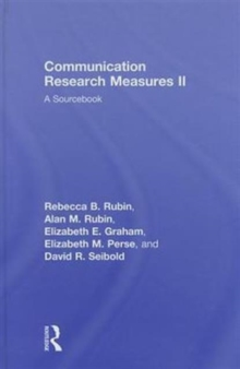 Communication Research Measures II : A Sourcebook, Hardback Book