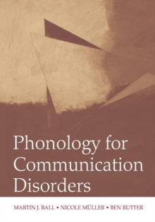 Phonology for Communication Disorders, Paperback / softback Book