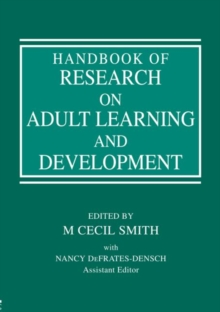 Handbook of Research on Adult Learning and Development, Paperback / softback Book