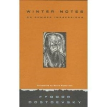 Winter Notes on Summer Impressions, Hardback Book