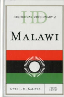 Historical Dictionary of Malawi, Hardback Book