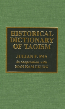 Historical Dictionary of Taoism, EPUB eBook