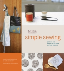 Lotta Jansdotter's Simple Sewing, Hardback Book
