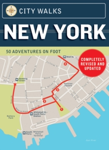 New York - City Walks : 50 Adventures on Foot, Novelty book Book