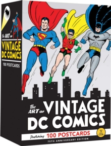 The Art of Vintage DC Comics, Postcard book or pack Book
