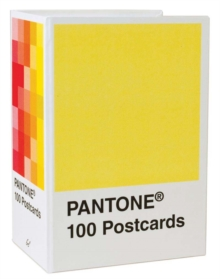 Pantone Postcard Box : 100 Postcards, Postcard book or pack Book