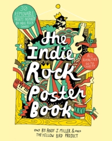 Indie Rock Poster Book, Paperback Book