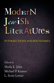 Modern Jewish Literatures : Intersections and Boundaries, Hardback Book