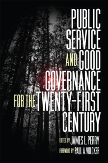 Public Service and Good Governance for the Twenty-First Century, Hardback Book