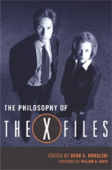 "The Philosophy of the """"X-files, Hardback Book"