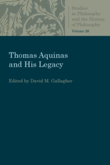 Thomas Aquinas and His Legacy, Paperback / softback Book