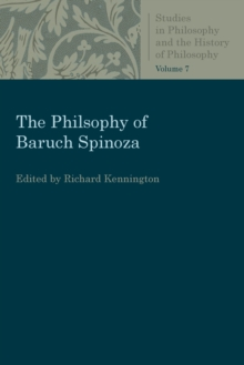The Philosophy of Baruch Spinoza, Paperback / softback Book