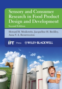 Sensory and Consumer Research in Food Product Design and Development, Hardback Book
