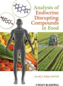 Analysis of Endocrine Disrupting Compounds in Food, Hardback Book
