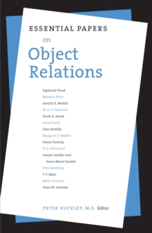 Essential Papers on Object Relations, Paperback / softback Book