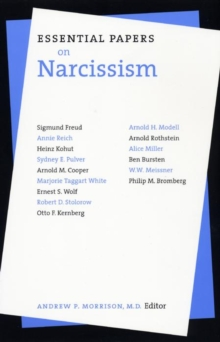 Essential Papers on Narcissism, Paperback / softback Book