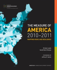 The Measure of America, 2010-2011 : Mapping Risks and Resilience, Paperback / softback Book