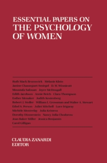 Essential Papers on the Psychology of Women, Paperback / softback Book