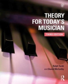 Theory for Today's Musician Textbook, Hardback Book
