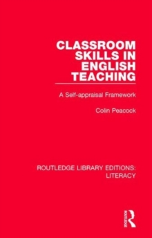 Classroom Skills in English Teaching : A Self-appraisal Framework, Hardback Book