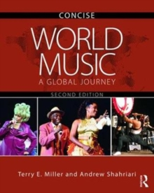 World Music CONCISE : A Global Journey, Mixed media product Book