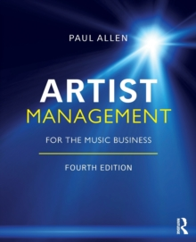 Artist Management for the Music Business, Paperback / softback Book