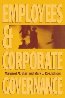 Employees and Corporate Governance, Paperback / softback Book