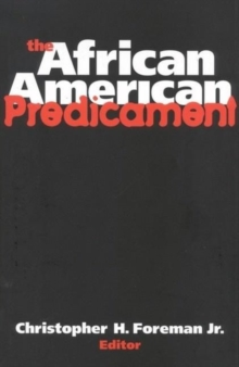 The African American Predicament, Paperback / softback Book