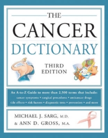 The Cancer Dictionary, Paperback Book