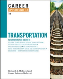 Career Opportunities in Transportation, Other merchandise Book