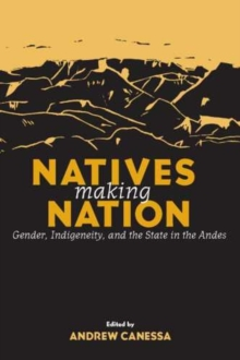 Natives Making Nation : Gender, Indigeneity and the State in the Andes, Paperback Book