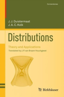 Distributions : Theory and Applications, PDF eBook