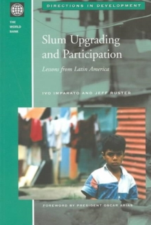 Slum Upgrading and Participation : Lessons from Latin America, Hardback Book