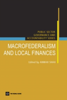Macro Federalism and Local Finance, Paperback / softback Book