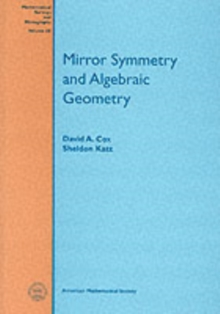 Mirror Symmetry and Algebraic Geometry, Paperback / softback Book