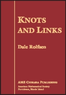 Knots and Links, Hardback Book