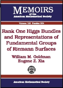 Rank One Higgs Bundles and Representations of Fundamental Groups of Riemann Surfaces, Paperback / softback Book