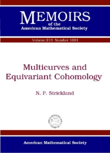 Multicurves and Equivariant Cohomology, Paperback Book