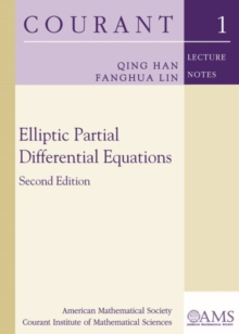 Elliptic Partial Differential Equations, Paperback / softback Book