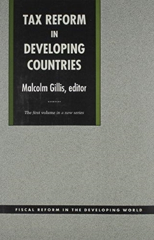 Tax Reform in Developing Countries, Hardback Book