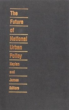 The Future of National Urban Policy, Hardback Book