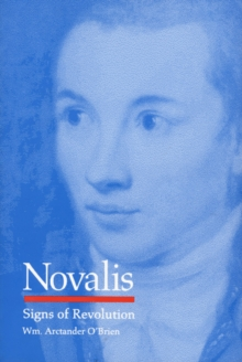 Novalis : Signs of Revolution, Hardback Book