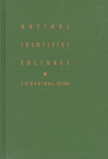 Nations, Identities, Cultures, Hardback Book