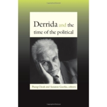 Derrida and the Time of the Political, Hardback Book