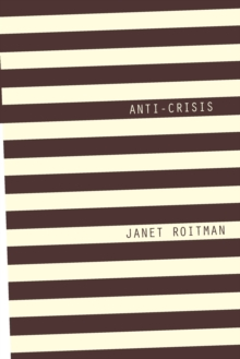 Anti-Crisis, Paperback / softback Book