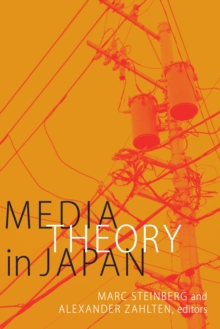 Media Theory in Japan, Paperback / softback Book