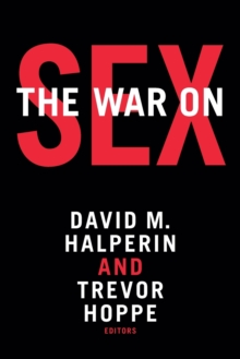 The War on Sex, Paperback / softback Book